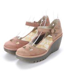 EU Comfort Shoes/ヨーロッパコンフォートシューズ EU Comfort Shoes FLYLONDON サンダル・パンプス(500.375) (サーモンピンク)/503060096