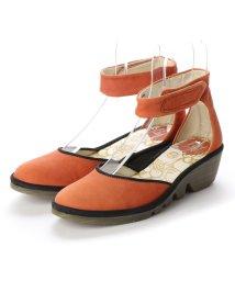 EU Comfort Shoes/ヨーロッパコンフォートシューズ EU Comfort Shoes FLYLONDON サンダル・パンプス(500.375) (オレンジ)/503060124
