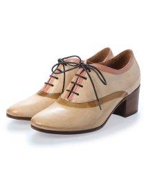 EU Comfort Shoes/ヨーロッパコンフォートシューズ EU Comfort Shoes King Tartufoli  レースアップパンプス(8772) (ベージュ)/503060376