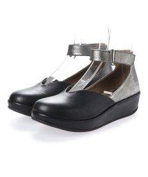 EU Comfort Shoes/ヨーロッパコンフォートシューズ EU Comfort Shoes FLYLONDON サンダルパンプス(500.785) (シルバー)/503060480