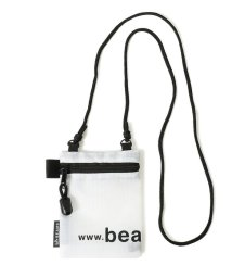 bPr BEAMS/BEAMS / ナイロン ロゴ ネック ポーチ/503061533