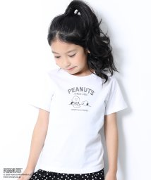 devirock/PEANUTS スヌーピー柄Tシャツ/503061659