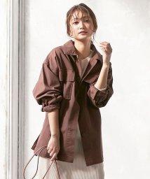 KOBE LETTUCE/ウエストベルトワークシャツジャケット [K876]/503062239