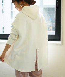 le.coeur blanc/バックジップスリットパーカー/502960038