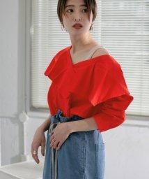 URBAN RESEARCH OUTLET/【KBF】WEB限定フリルカラーアシメシャツ/503006125