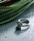 MAISON mou/【YArKA/ヤーカ】silver925 bind coad ring[mus3] /結び紐リング シルバー925/503051802