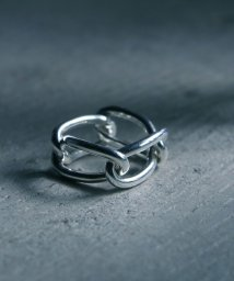 MAISON mou/【YArKA/ヤーカ】silver925 4 oval parts ring[jens]/4楕円パーツリング /503051806