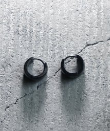 MAISON mou/【YArKA/ヤーカ】stainless series wide circle pierce/ステンレス太幅サークルピアス/503051809