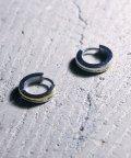 MAISON mou/【YArKA/ヤーカ】stainless series line circle pierce/ステンレスラインピアスY2001STP11P/503051831