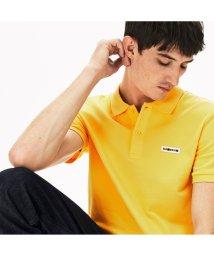 LACOSTE Mens/レギュラーフィット マルチカラーネームパッチデザインポロシャツ (半袖)/503063300