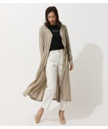AZUL by moussy/COLLARLESS BLOUSING ONEPIECE/503063521