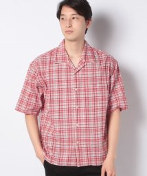 URBAN RESEARCH OUTLET/【SENSEOFPLACE】グレンチェックオープンカラーシャツ(5分袖/503005649