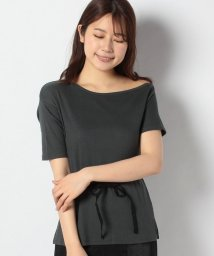 NICE CLAUP OUTLET/ワンショルベルト付Tシャツ/503021525