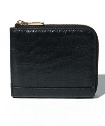 gino marina luxe/クロコダイル本革折り財布/503028810