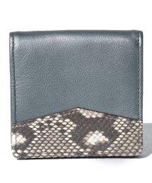 gino marina luxe/カウ&パイソンコインケース/503028815