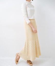 haco!/単品はもちろん重ね着してもかわいさが増す!透かし編みマーメイドスカート/503041580