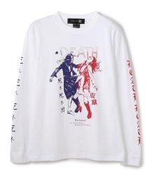 LHP/SAMURAICORE/サムライコア/死ネ死ネ腹蹴りLong T-Shirts /グラフィックプリントロンT/503064056