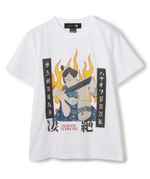 LHP/SAMURAICORE/サムライコア/凄絶ハラキリPUNK TEE/グラフィックプリントTシャツ/503064057