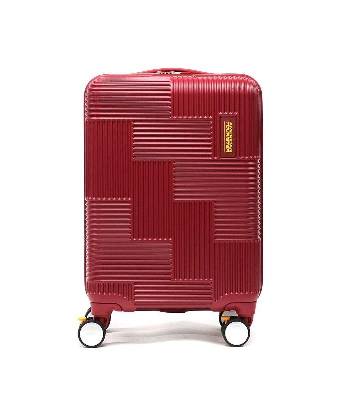 ギャレリア サムソナイト アメリカンツーリスター スーツケース AMERICAN TOURISTER VELTON Spinner 55 GL7 001 ユニセックス レッド F 【GALLERIA】