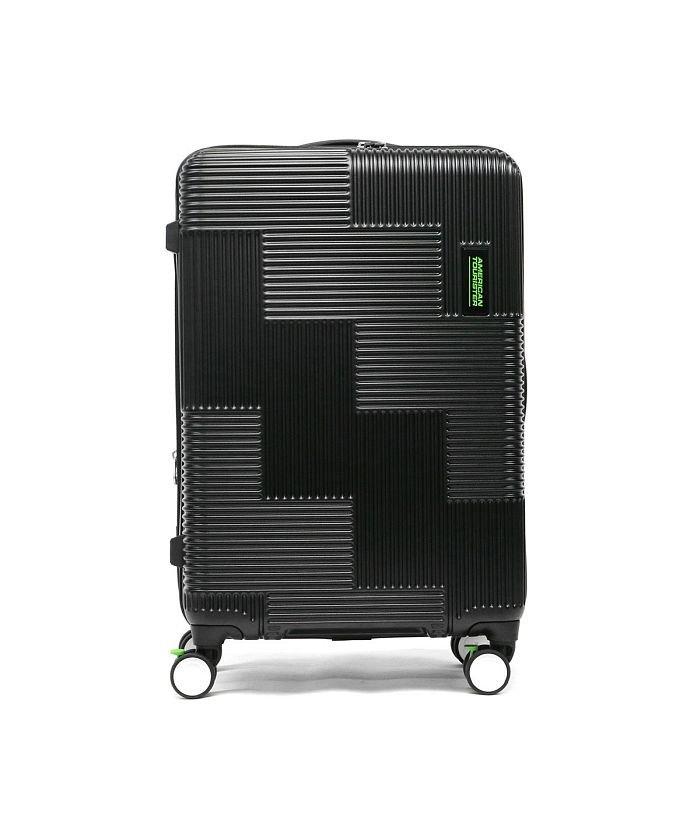 ギャレリア サムソナイト アメリカンツーリスター スーツケース AMERICAN TOURISTER VELTON Spinner 69 GL7−002 ユニセックス ブラック F 【GALLERIA】