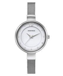 ARMITRON NEWYORK/ARMITRON 腕時計 レディース アナログ メッシュブレスレットウォッチ スワロフスキーアクセント/503065305