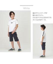 MAC HOUSE(kid's)/T-GRAPHICS ティーグラフィックス ボーイズ 袖ラインTシャツ MH/TGSS102B/503065326