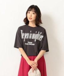 SHIPS any WOMENS/【別注】MONMIMI:プリントTシャツ/503065923