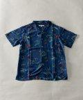 Nylaus/NYLAUS ビックシルエット ストライプ柄 半袖 カジュアルシャツ/503066241