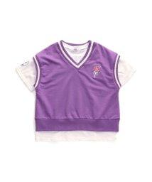 ALGY/ニコプチコラボ ベスト&Tシャツセット/502878616