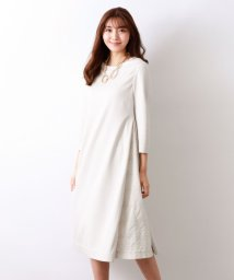 AMACA/【Precious Collection】LACE EMBROIDERYコンビワンピース/502941068