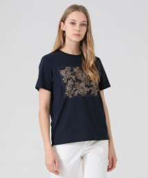 MACKINTOSH LONDON/【BIBURY FLOWER】箔プリントTシャツ/503047470