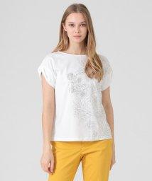 MACKINTOSH LONDON/【BIBURY FLOWER】ラインプリントTシャツ/503047473