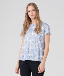 MACKINTOSH LONDON/【BIBURY FLOWER】スムースTシャツ/503047474