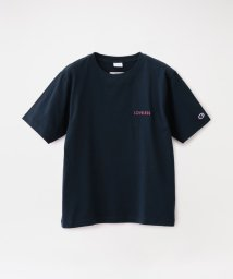 LOVELESS WOMEN/【Champion exclusive for LOVELESS】WOMEN 別注 エンブロイダリーロゴTシャツ/503054321