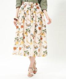 CARA O CRUZ/【セットアップ】【LISA 】フラワースカート/503064358