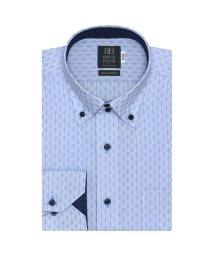 BRICKHOUSE/ワイシャツ 長袖 形態安定 ボタンダウン 綿100% 市松格子織柄/503066477