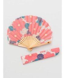 KAYA/【カヤ】葉菊扇子 袋付き 7XCP0112/503068058