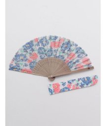 KAYA/【カヤ】二色牡丹扇子 袋付き 7XCP0113/503068059