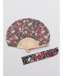 KAYA/【カヤ】レトロ小椿扇子 袋付き 7XCP0115/503068061