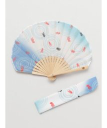 KAYA/【カヤ】金魚扇子 袋付き 7XCP0117/503068063