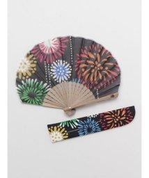 KAYA/【カヤ】夏の風物詩 花火扇子 袋付き 7XCP0118/503068064