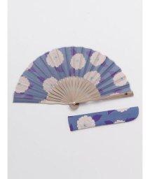 KAYA/【カヤ】粋色牡丹扇子 袋付き 7XCP0121/503068067