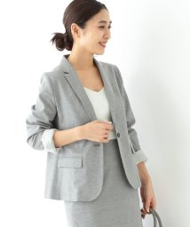 Demi-Luxe BEAMS/Demi-Luxe BEAMS / ストレッチシャークスキン ジャケット/503025140