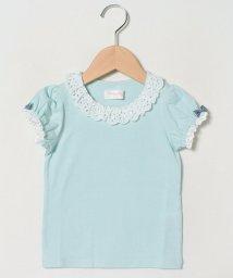 ShirleyTemple/レース付きパフTシャツ(100~130cm)/503026244