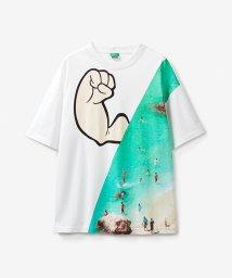 BENETTON (mens)/【Popeyeコラボ】ポパイアートワークTシャツ・カットソー/503045721