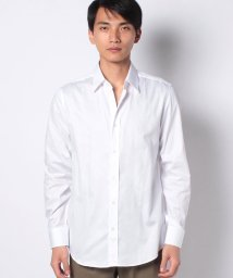 BENETTON (mens)/ドビー織り柄長袖レギュラーカラーシャツ/503045724