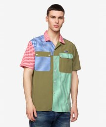 BENETTON (mens)/パターンチェックオープンカラーシャツ/503045725