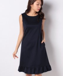 MISS J/レーヨンポンチ ドレス/503050099