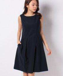 MISS J/タフタジャージー タックドレス/503050101