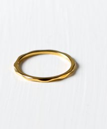 MAISON mou/【rufsh/ルフシュ】stainless anrrow wave ring/ ステンレスリング RF1908CJSR03/503051175
